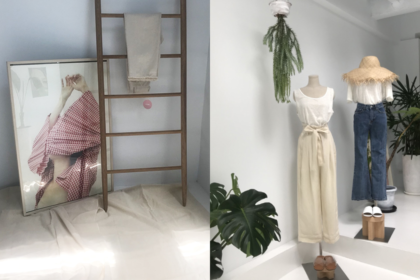 blow taipei shopping guide new store pants jeans instagrammable pink wall