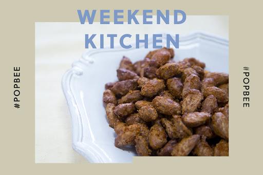 #週末廚房:健康茶點推介!3 分鐘學會製作脆脆肉桂杏仁