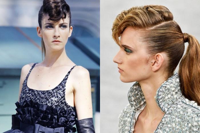 #PFW:當法國女生走龐克風格,大概就會綁這款馬尾髮型吧!