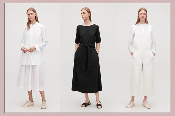 跟 COS 學夏日穿搭:簡約控才懂的低調時尚, 30 個質感黑白造型