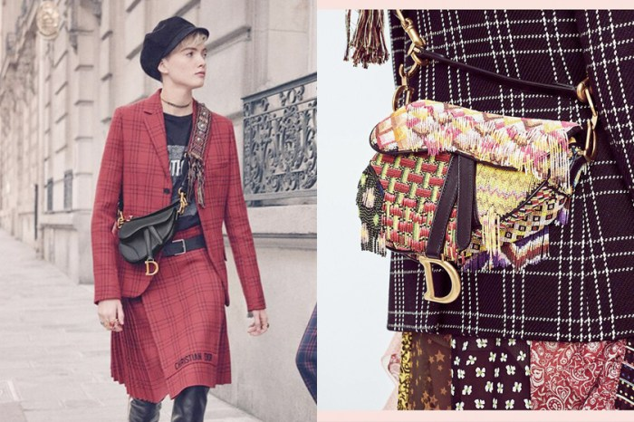 哪有不買的理由?Dior 全新「迷你尺寸」馬鞍包,本季全部花色都在這了