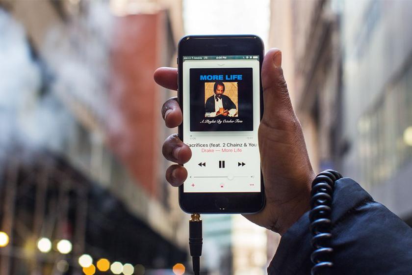 drake apple music first artist 10 billion streams