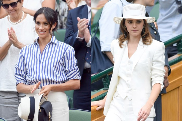 擋不了 Meghan 魅力?Emma 用了最帥氣的方式詮釋「All White Look」!