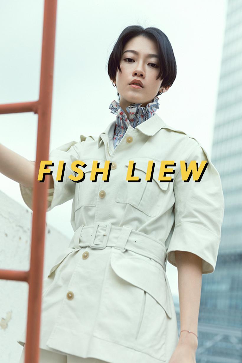 Handsome Girl Fish Liew Miss Bean Zoe Suen Jenny Suen