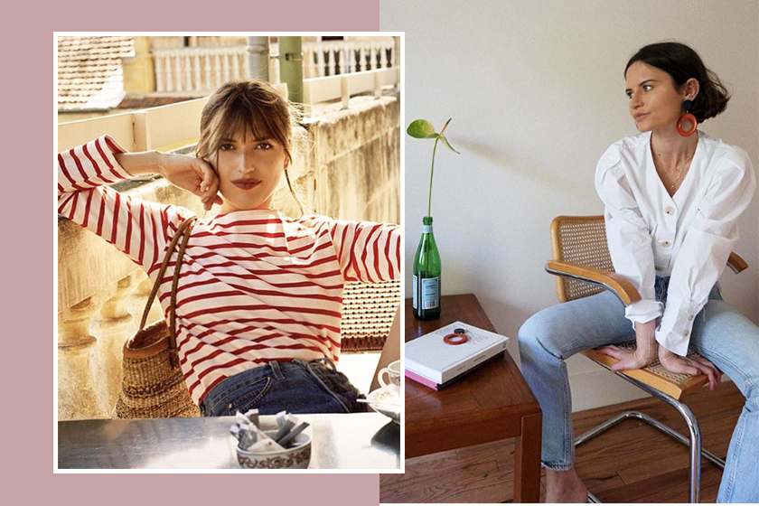 french-style outfits on instagram