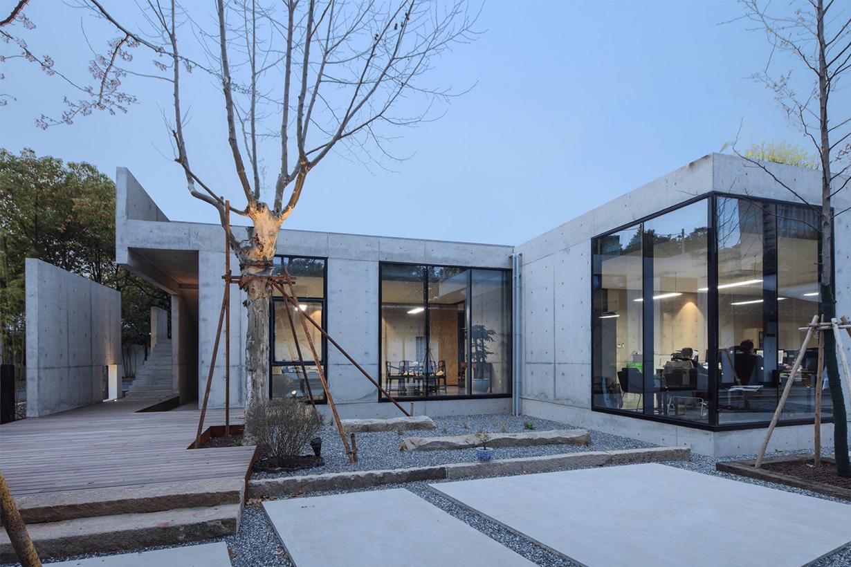 Garden office in Shanghai