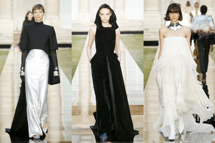 #PFW:設計完梅根婚紗後,Givenchy 高定上重新詮釋大師生前所有經典