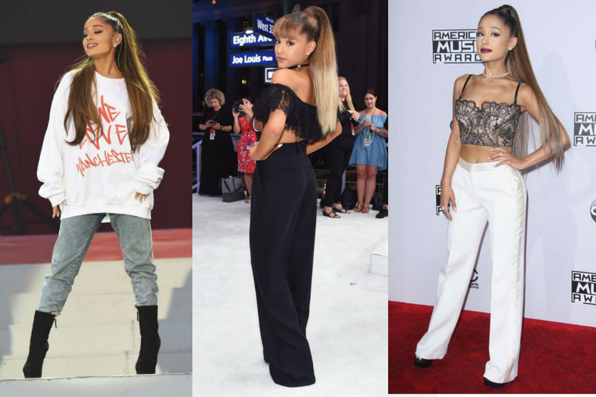 ariana grande petite girl outfit sexy style