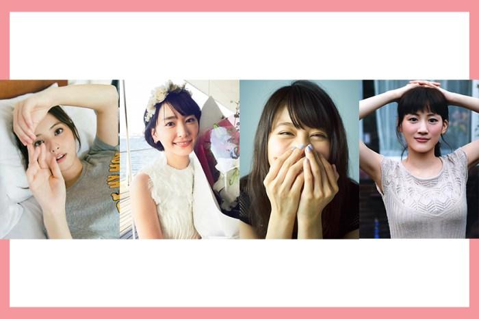 日本女生理想臉蛋 Top 10,想不到結果讓人大跌眼鏡呢!