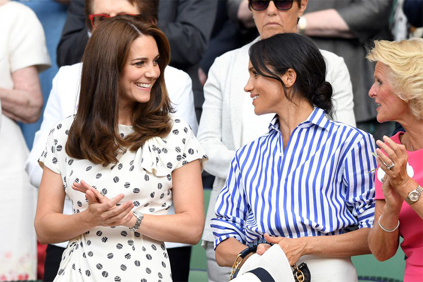 kate middleton meghan markle rivalry