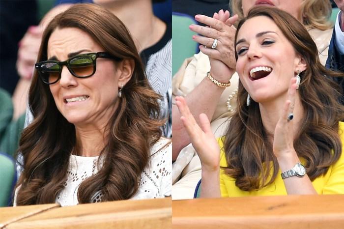 凱特王妃最搞笑表情包在此!平日總是優雅微笑的她,只會在這兒擺出趣怪臉!