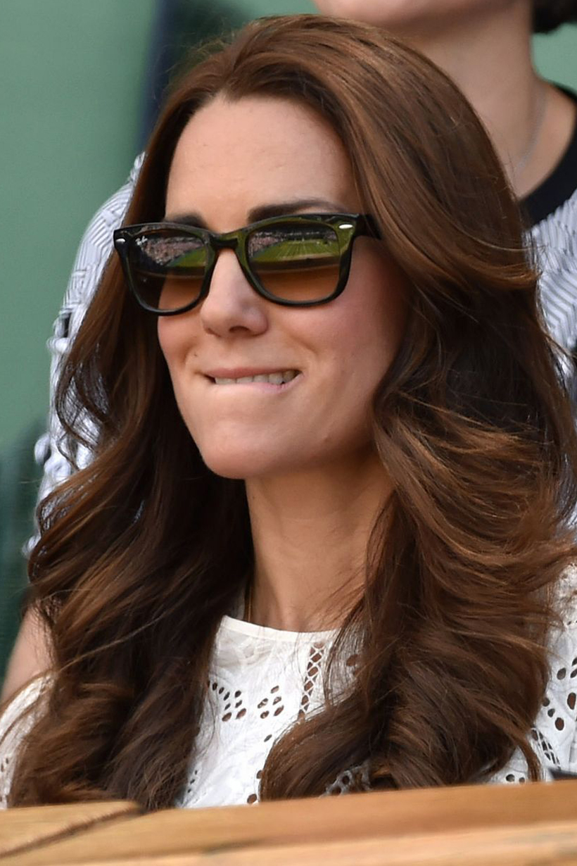 Kate Middleton Wimbledon Tennis Match Prince William Funny Facial Expression Prince William Andy Murray Maternity Leave British Royal Family