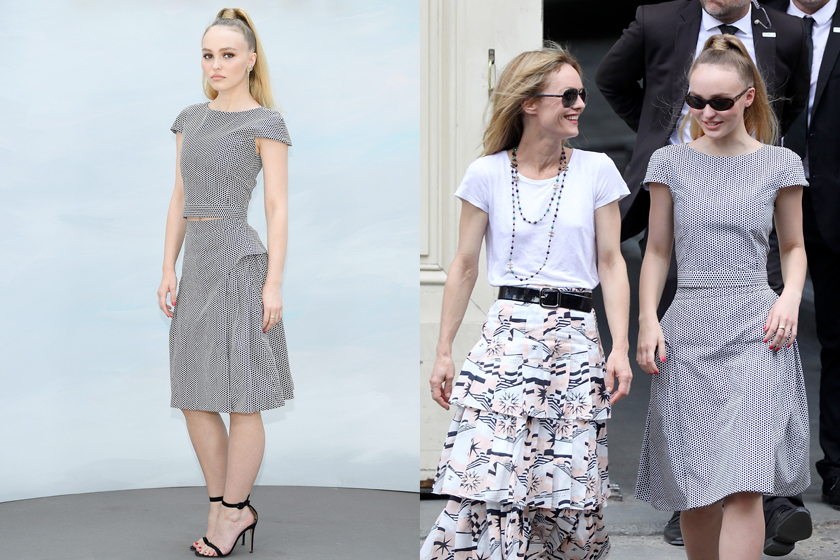 Koki Lily rose depp chanel 18 haute couture paris pfw