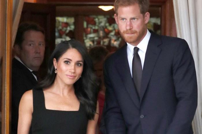 一個細節竟能讓沉悶的「小黑裙」變得富特色,Meghan Markle 真聰明!