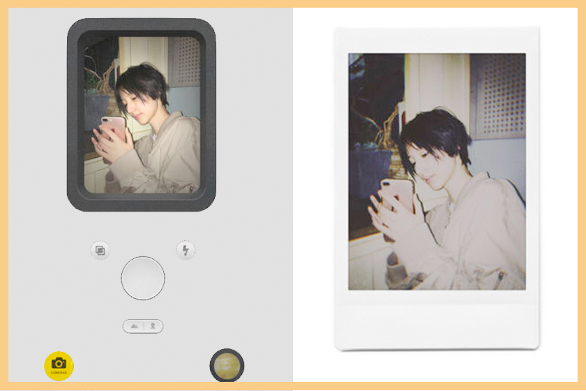 nomo app instant film camera polaroid phone