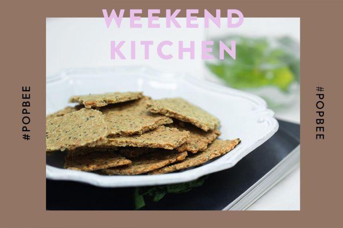 #週末廚房:當午餐也 OK 的茶點推介!DIY 麥皮果籽脆餅