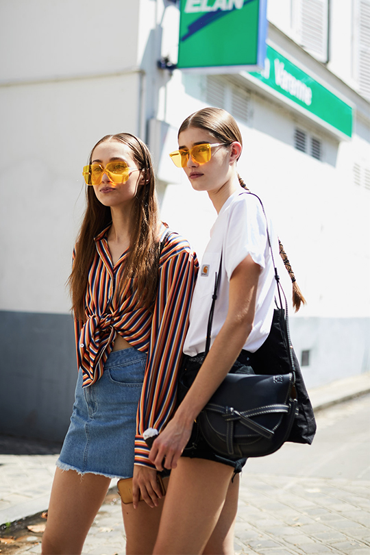 pfw fw2018 streetsnaps summer outfit ideas