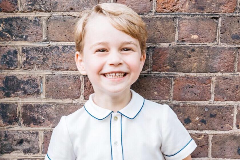 Prince George Queen Elizabeth II look alike birthday royal family
