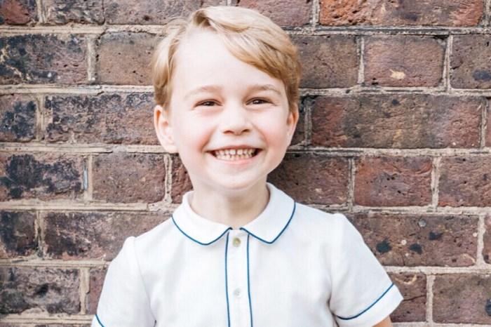 英皇室公開喬治小王子相片慶祝生日,卻意外發現和「這位」撞臉!