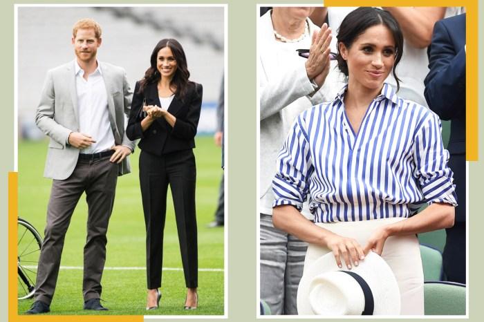 Meghan Markle 本來打算穿這樣出訪澳州,卻令哈里王子大叫反對!
