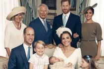 英國皇室發佈路易小王子 4 張官方受洗照,溫馨場面超有愛!