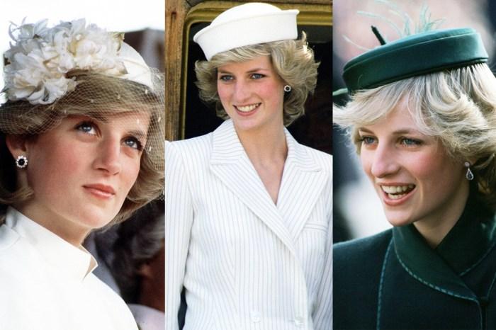 皇室人員的專屬帽子戲法:32 張照片,回顧戴妃最經典的帽子造型!