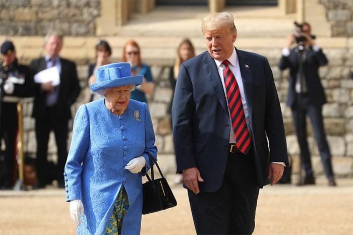 英女皇與特朗普會面,她的胸針原來隱藏了訊息?