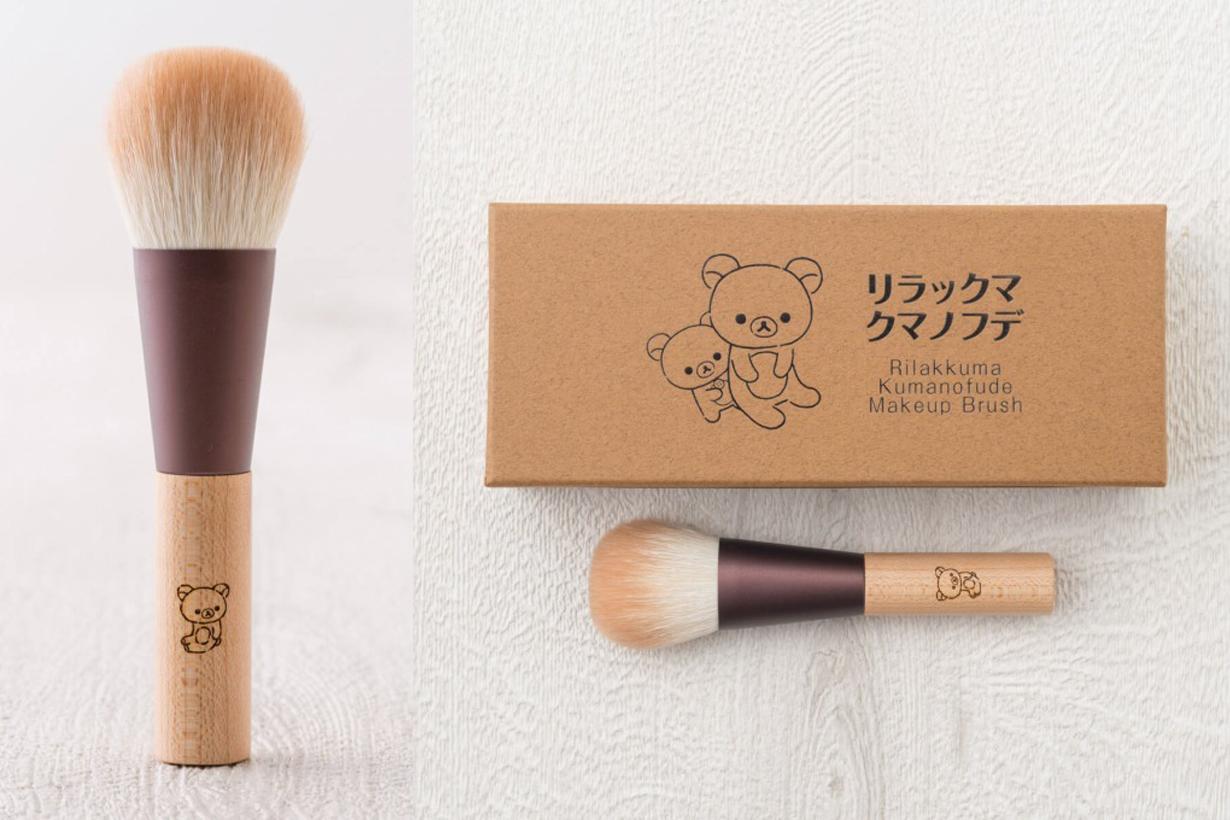 Rilakkuma makeup brush kabuki brush makeup cosmetics japan japanese cosmetics Japan Sogo