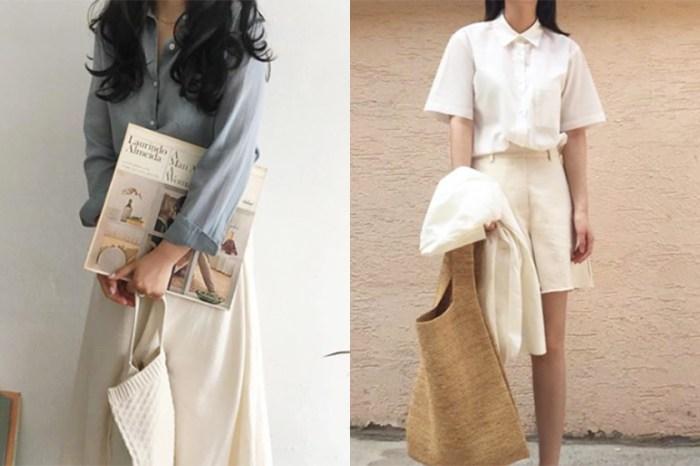 氣質女孩穿搭靈感:看完這些韓國女生的穿搭,絕對會讓你重新愛上襯衫!