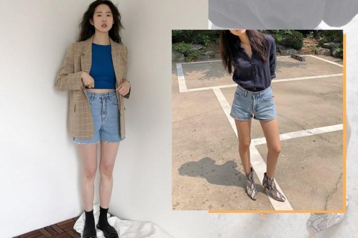和韓國女生學「牛仔短褲」穿搭,靠這 3 個單品一秒從休閒變時髦!