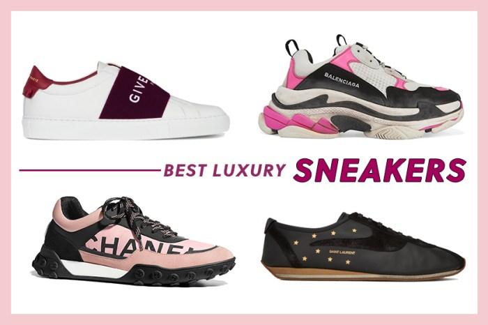 20+ 名牌波鞋特集:光買名牌手袋還不夠,因為現在還流行起穿名牌波鞋!