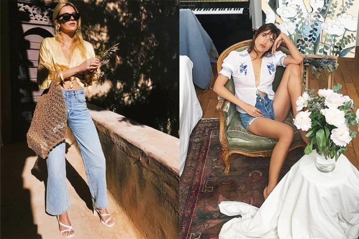 這個夏天,時尚的巴黎女孩都穿這件上衣!