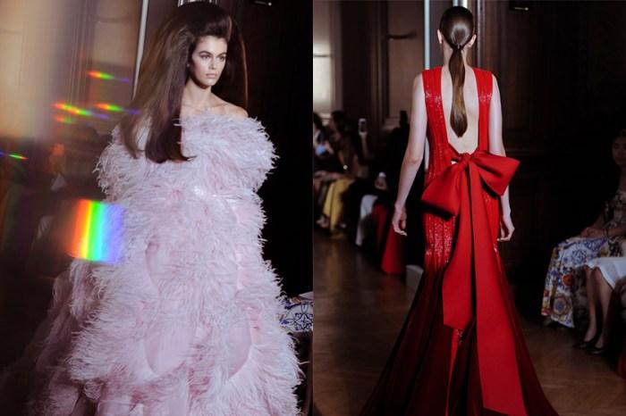 #PFW:女生心目中最想擁有的夢幻美裙, Valentino 已經為你打造了!