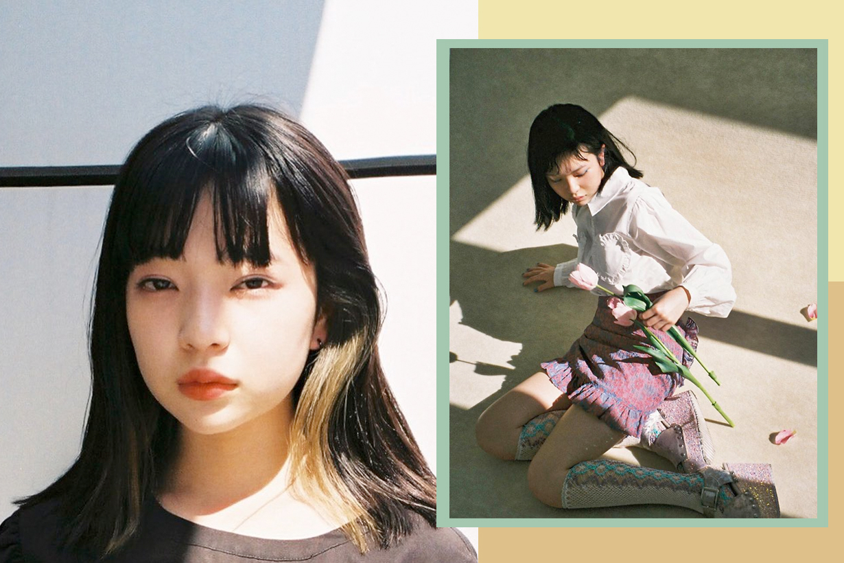 Mei Tanaka japanese model actress fashion it girl mememi 2000