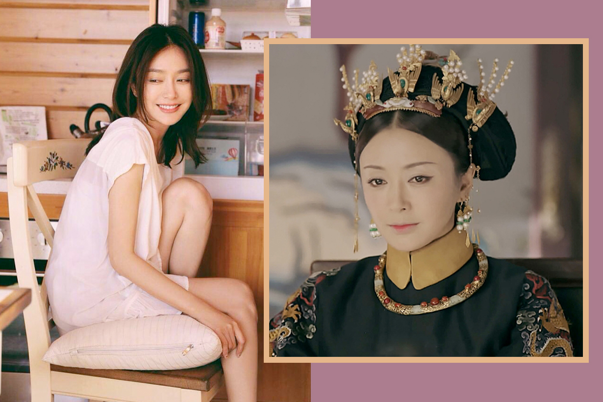 Story of Yanxi Palace queen qin lan chinese female actor