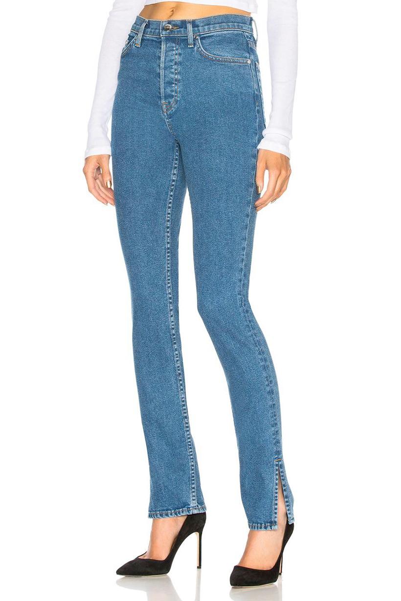 skinny jeans comeback side slit flare 2018 fall winter