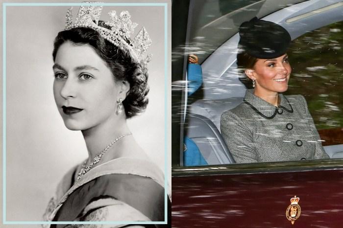 英女王原來這麼疼愛孫媳婦!除了這雙珍珠耳環,凱特王妃還向她借了哪些珍藏首飾?