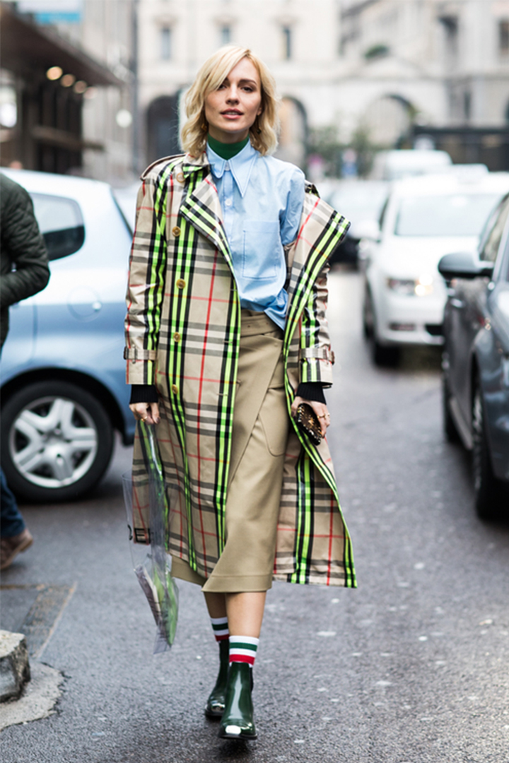 How to stay chic when it rains
