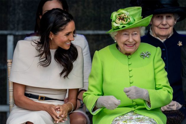 Queen and Meghan Markle visited Cheshire