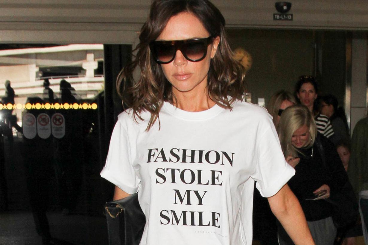 Victoria Beckham shares T-shirt tips