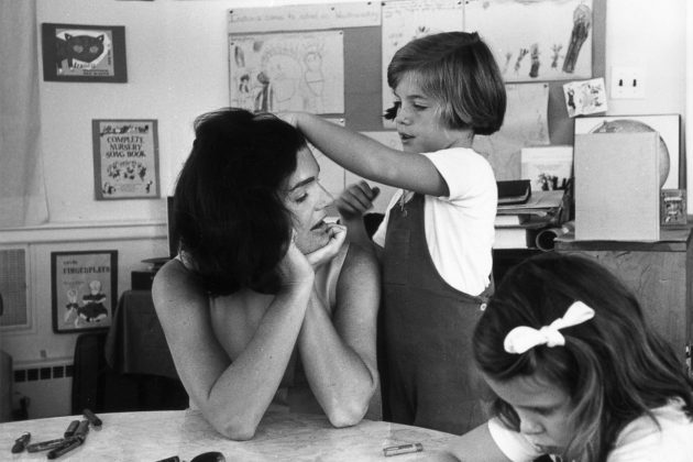 Jackie Kennedy Family Hair Kids