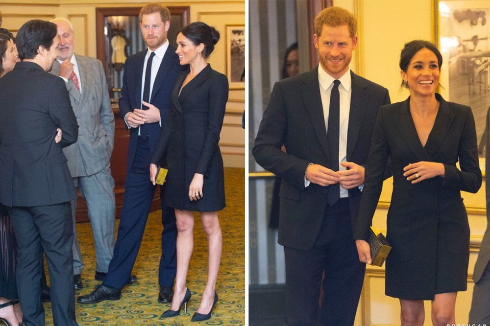 Meghan-Markle Wore Judith & Charles Digital Dress to see Hamilton