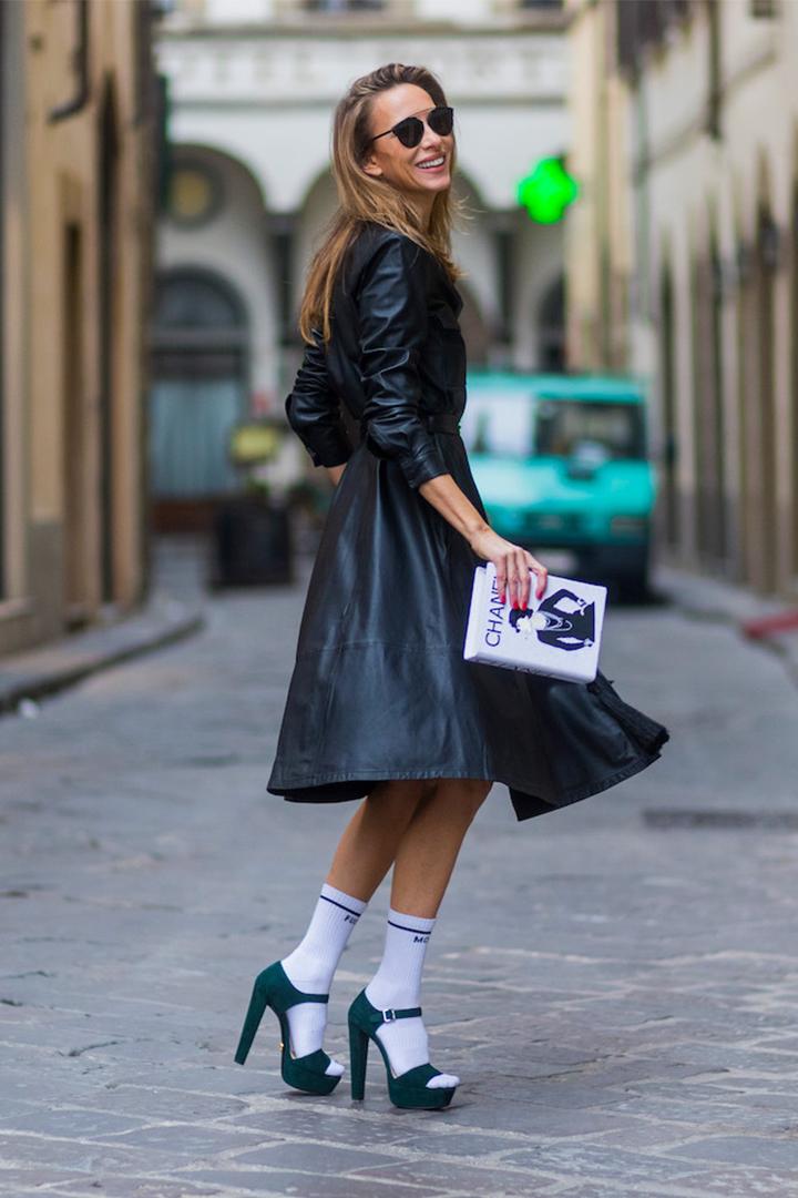 Wear Socks with Stilettos