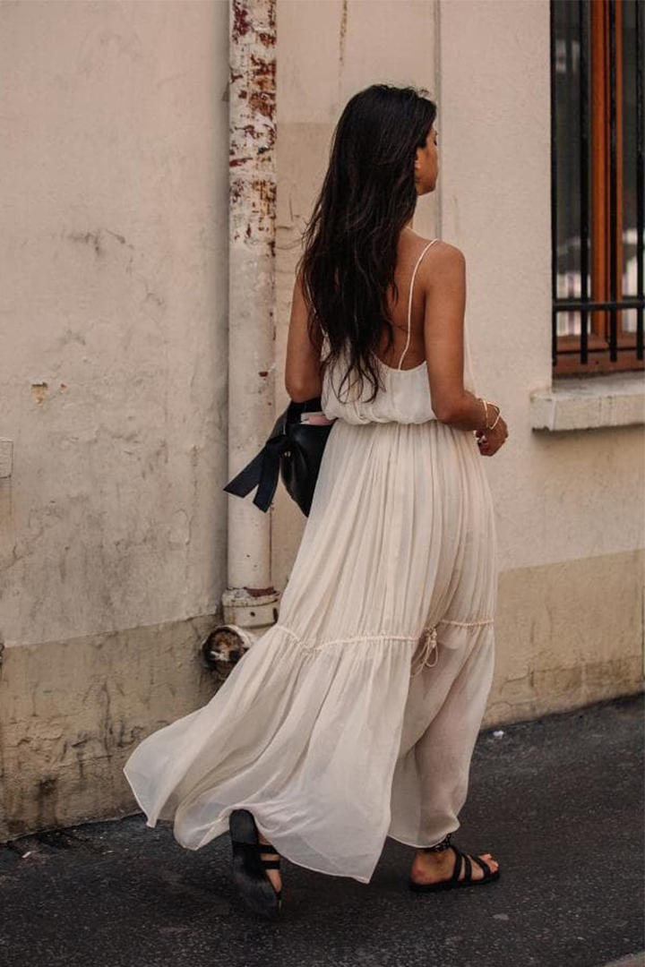 WHITE DRESS SUMMER 2018
