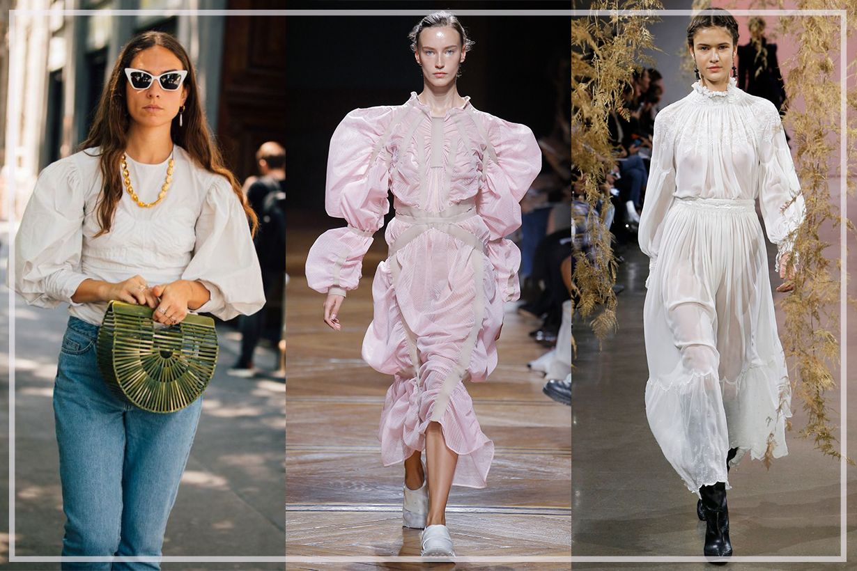 How to wear 80s-Inspired Puff Sleeves