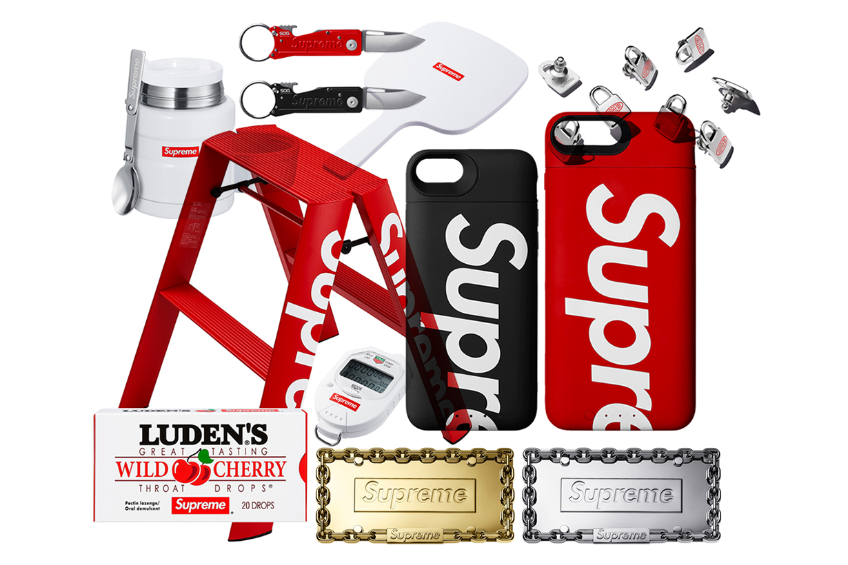 Supreme Fall-Winter 2018 Accessories