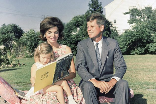 Jackie Kennedy Family