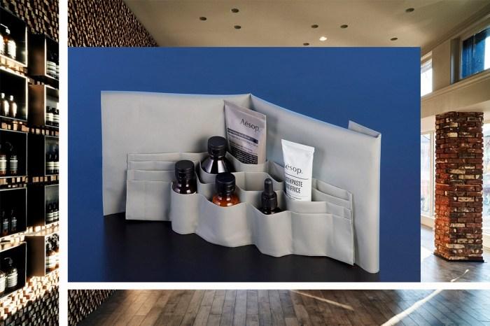 ÉCAL 設計學生以收納和香薰為題,每件作品都完美襯托 Aesop 的簡樸美感