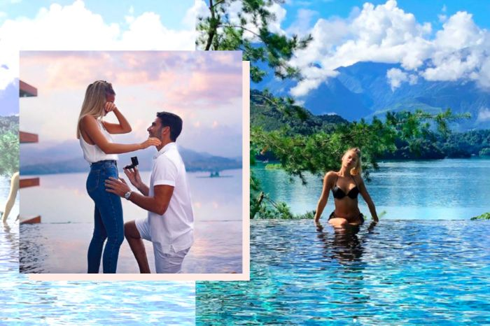 巴西名模被求婚的絕美場景全球爆紅,就在台灣「這個地方」!