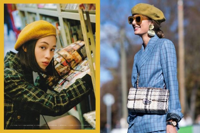 滿足當巴黎女生的幻想!貝蕾帽要怎樣戴才自然又時髦?